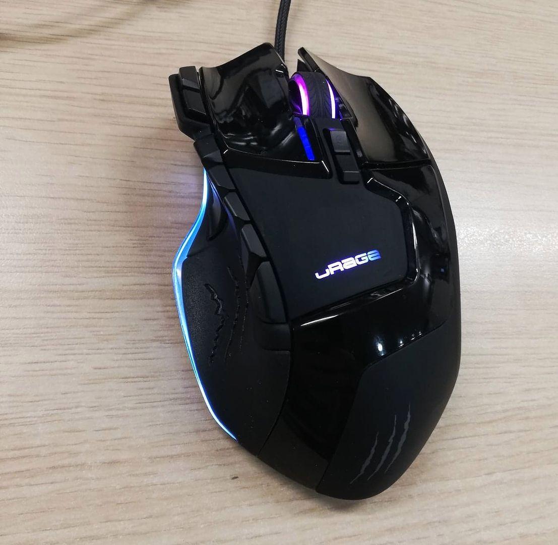 Hama uRage Reaper Rev. Kompaktowa mysz laserowa dla gracza