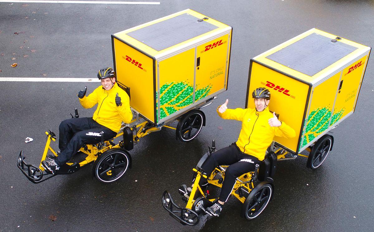 DHL stawia na kurierskie rowery. Wiemy, gdzie jeżdżą