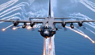 Samolot C-130 Gunship. Jedna z najpotężniejszych broni NATO