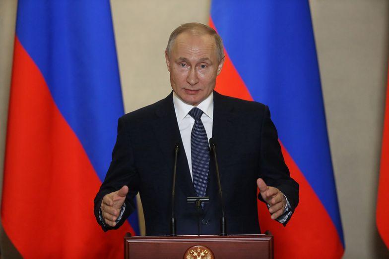Władimir Putin miał osobiście interweniować ws. swojego wizerunku w cerkwi.