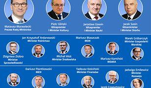 Oto nowy rząd Mateusza Morawieckiego