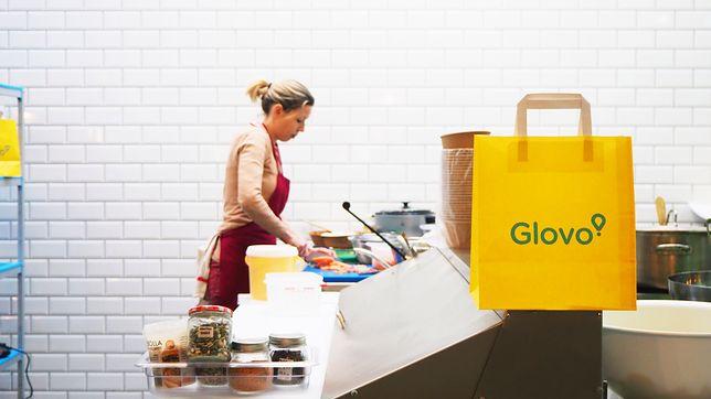 Glovo działa w Polsce.