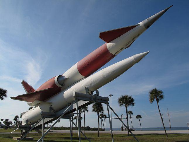 SM-64 Navaho - rakieta manewrująca z ładunkiem nuklearnym.