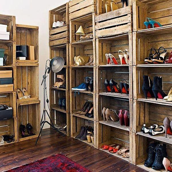 Przechowywanie butów z pomysłem