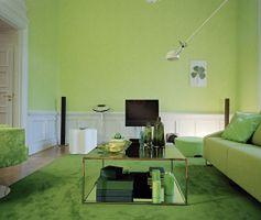 Kolory wnętrz: zielony salon. Aranżacje salonów kipiących energią