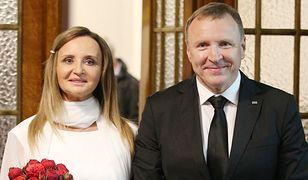 Jacek Kurski wziął ślub w Łagiewnikach. Katarzyna Kolenda-Zaleska skomentowała to jednym słowem