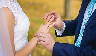 Coraz mniej ślubów kościelnych, rośnie liczba rozwodów