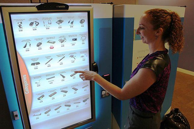 W automatach można dziś kupić dosłownie wszystko