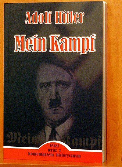 """Polski wydawca """"Mein Kampf"""" skazany na 3 miesiące"""