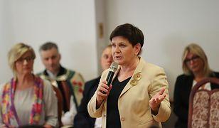 Wicepremier Beata Szydło podkreślała rolę programu 500 plus