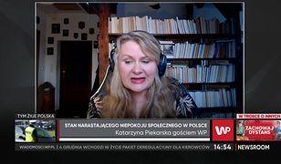 Katarzyna Piekarska o Strajku Kobiet: nie do wybaczenia są słowa Kaczyńskiego