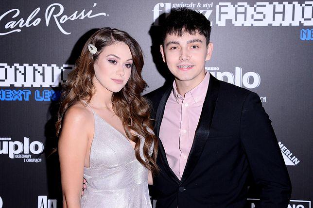 Sylwia Przybysz i Jan Dąbrowski na Flesz Fashion Night 2019