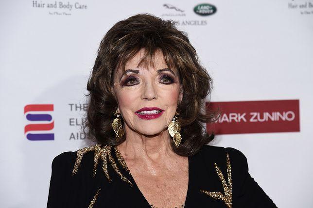 Joan Collins nadal uwielbia huczne imprezy