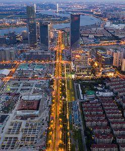 Chiny. Lotnisko w Szanghaju przekształcono w imponujący park