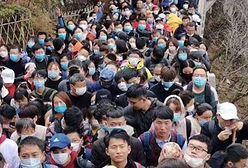 Tłumy turystów po kwarantannie w Chinach. Władze ostrzegają przed nową falą zakażeń