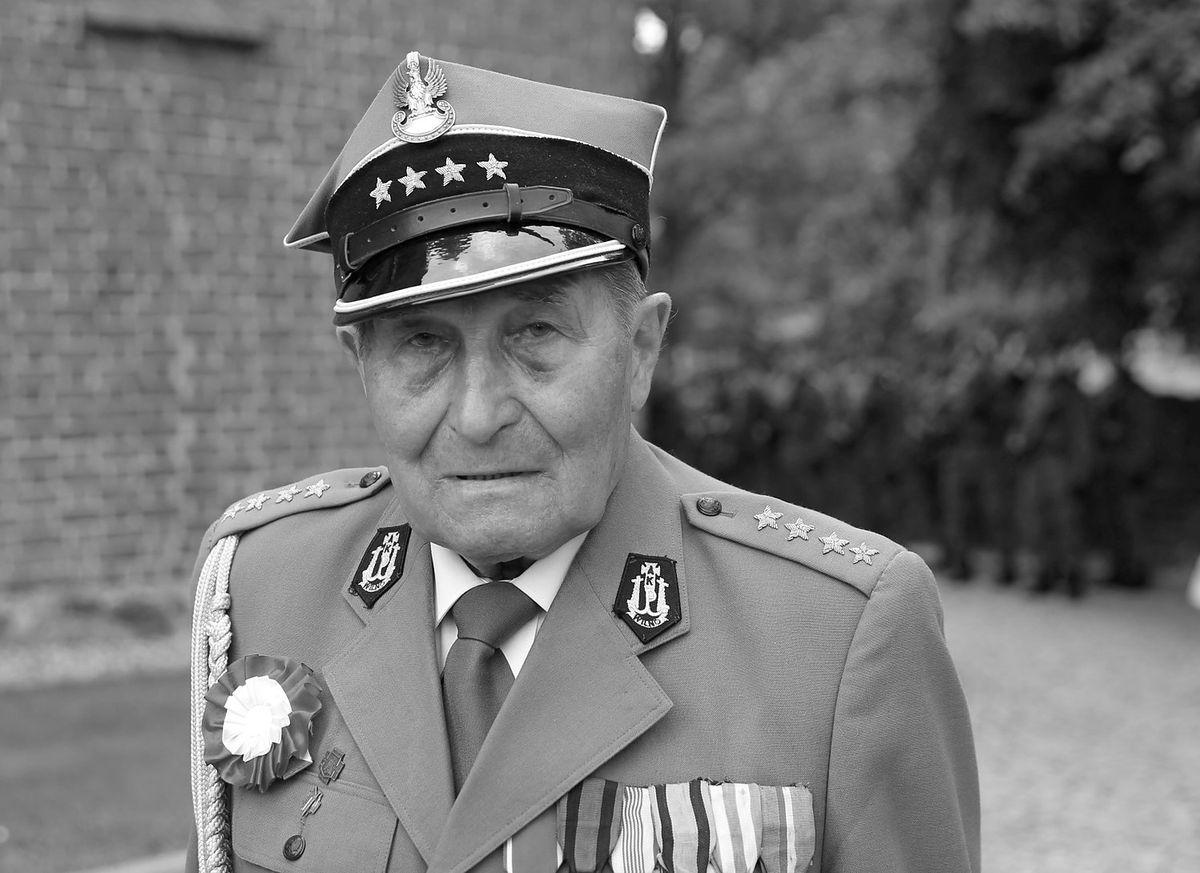 "Zmarł kapitan Józef Rusak ps. ""Bylina"""