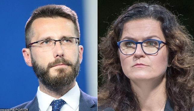 """Radosław Fogiel przeprasza Aleksandrę Dulkiewicz. """"Niezręczność"""""""