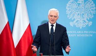 Jarosław Gowin zakażony. Trafił do szpitala