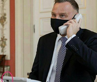 Zdjęcie prezydenta Andrzeja Dudy pod lupą internautów. Zareagował jego rzecznik