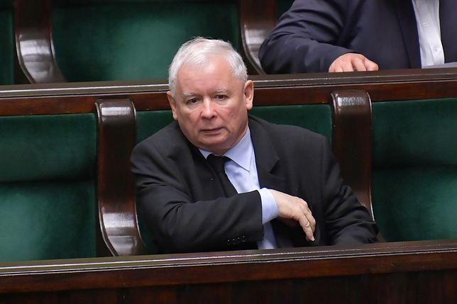 Nowy sondaż może nie spodobać się Jarosławowi Kaczyńskiemu
