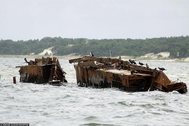 KE bardzo poważnie traktuje problem zanieczyszczenia dna Bałtyku amunicją z czasów II Wojny Światowej/ Zdjęcie ilustracyjne: wrak statku na Morzu Bałtyckim