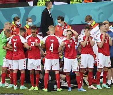 Euro 2020. Christian Eriksen reanimowany, dramatyczne sceny na boisku