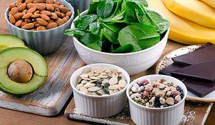 Wiele produktów spożywczych jest bogatych w magnez