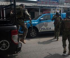 Strzelanina w Rio de Janeiro. Nie żyje co najmniej 25 osób