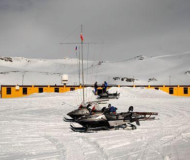 Polska Stacja Antarktyczna im. H. Arctowskiego znajduje się na wyspie Króla Jerzego