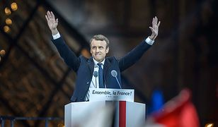 Emmanuel Macron wygrał wybory prezydenckie we Francji