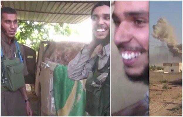 Prawdziwe oblicze fanatyzmu. Wstrząsające wideo pokazuje dżihadystę cieszącego się na myśl o samobójczym zamachu