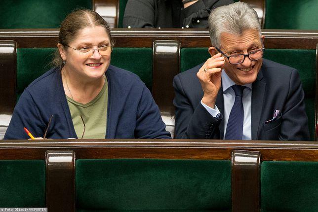 Sejm. Krystyna Pawłowicz i Stanisław Piotrowicz