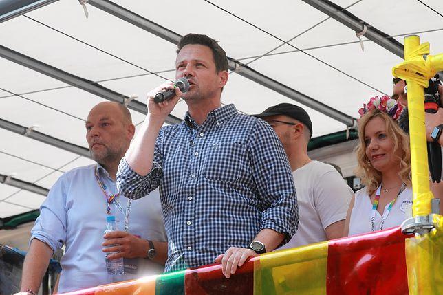 Rafał Trzaskowski na Paradzie Równości 2019