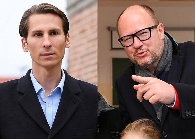 Kacper Płażyński i Paweł Adamowicz