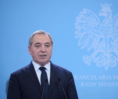 Henryk Kowalczyk, minister środowiska.
