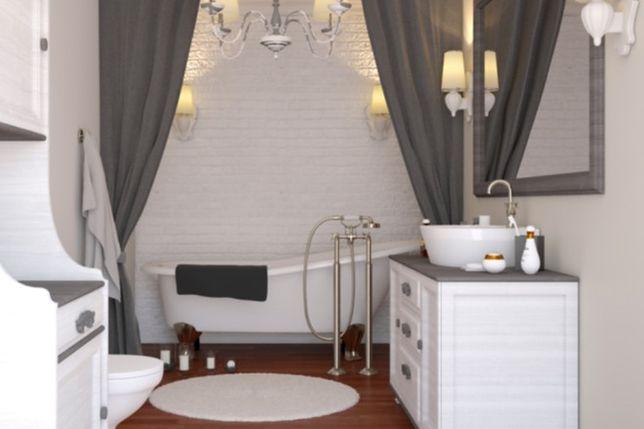 Jak urządzić wąską łazienkę, by wydawała się większa?
