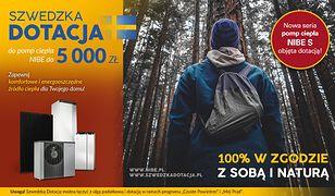 Jesienna Szwedzka Dotacja - do 5 000 zł dotacji do pomp ciepła NIBE