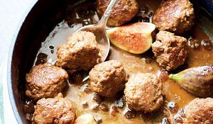 Soczyste klopsiki w esencjonalnym sosie z figami