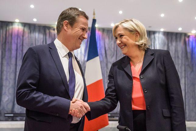 Le Pen ogłosiła kandydata na premiera. Jest spoza Frontu Narodowego