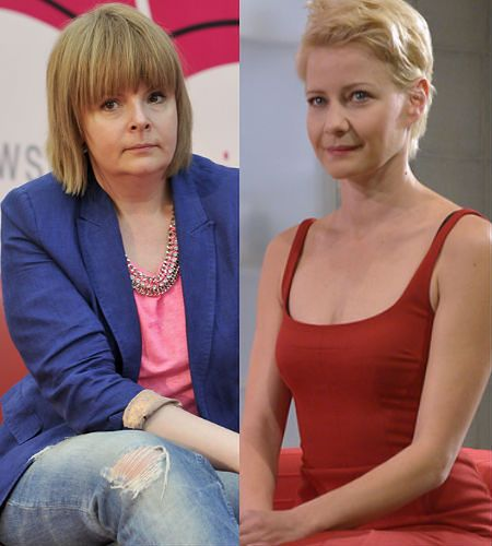 Karolina Korwin-Piotrowska, Małgorzata Kożuchowska – 43 lata