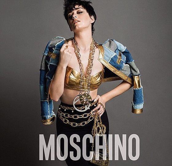 Katy Perry gwiazdą kampanii Moschino