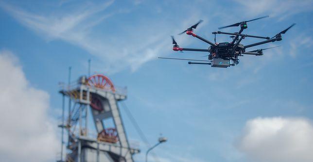 Śląsk. Dron staje się coraz przydatniejszym urządzeniem.