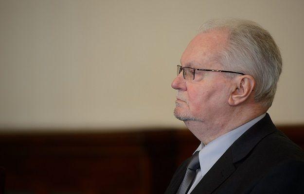 Lechosław Gapik podczas ogłaszania wyroku 11 kwietnia 2013 r.