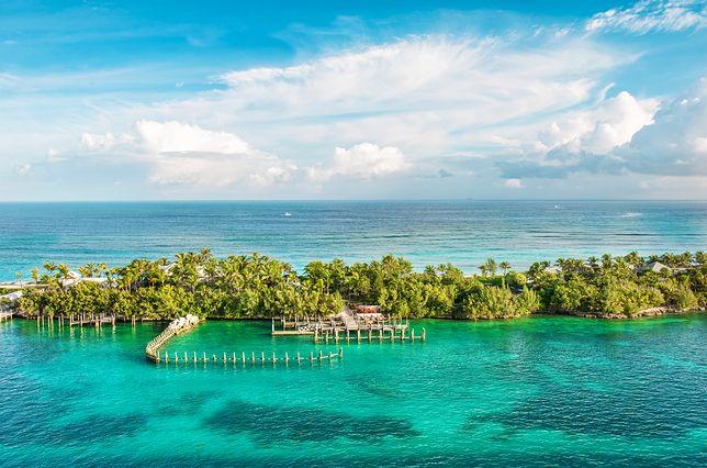 Plaża na Bahamach