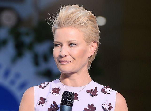 Małgorzata Kożuchowska w krótkich włosach