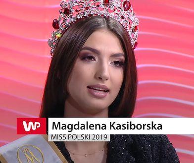 Miss Polski 2019. Magdalena Kasiborska o tym, czy konkursy piękności są bezpieczne