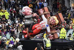 Karykatura Kaczyńskiego na paradzie. Karnawał w Duesseldorfie