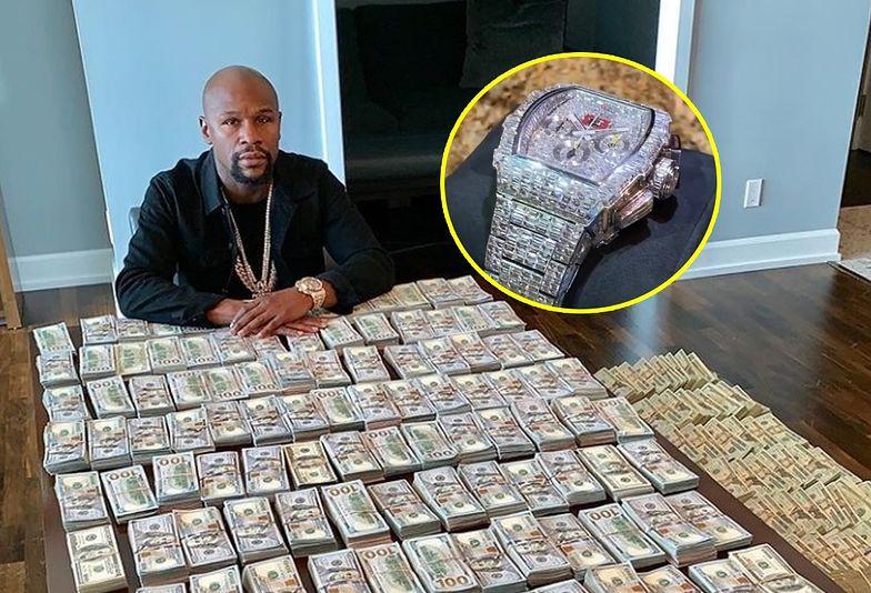 Floyd Mayweather opływa w luksusy. Trudno uwierzyć, ile wart jest jego zegarek!