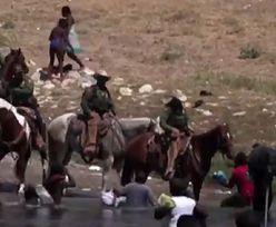 Szokujące sceny na granicy. Amerykanie łapią imigrantów na... lasso