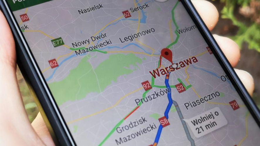 W Mapach Google pojawiły się nowe opcje zgłaszania zagrożeń na drodze, fot. Oskar Ziomek